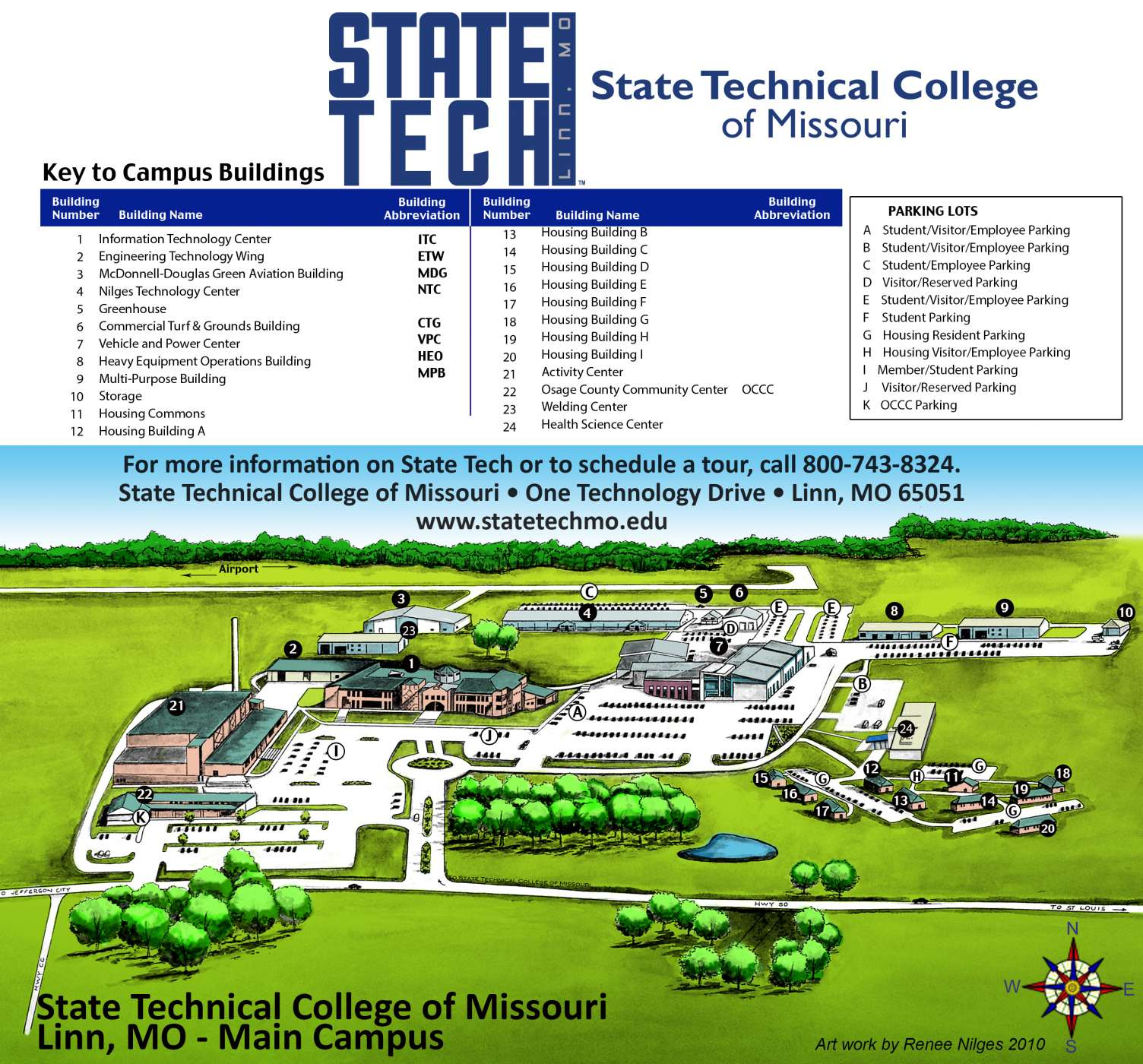 Map Directions State Technical College Of Missouri