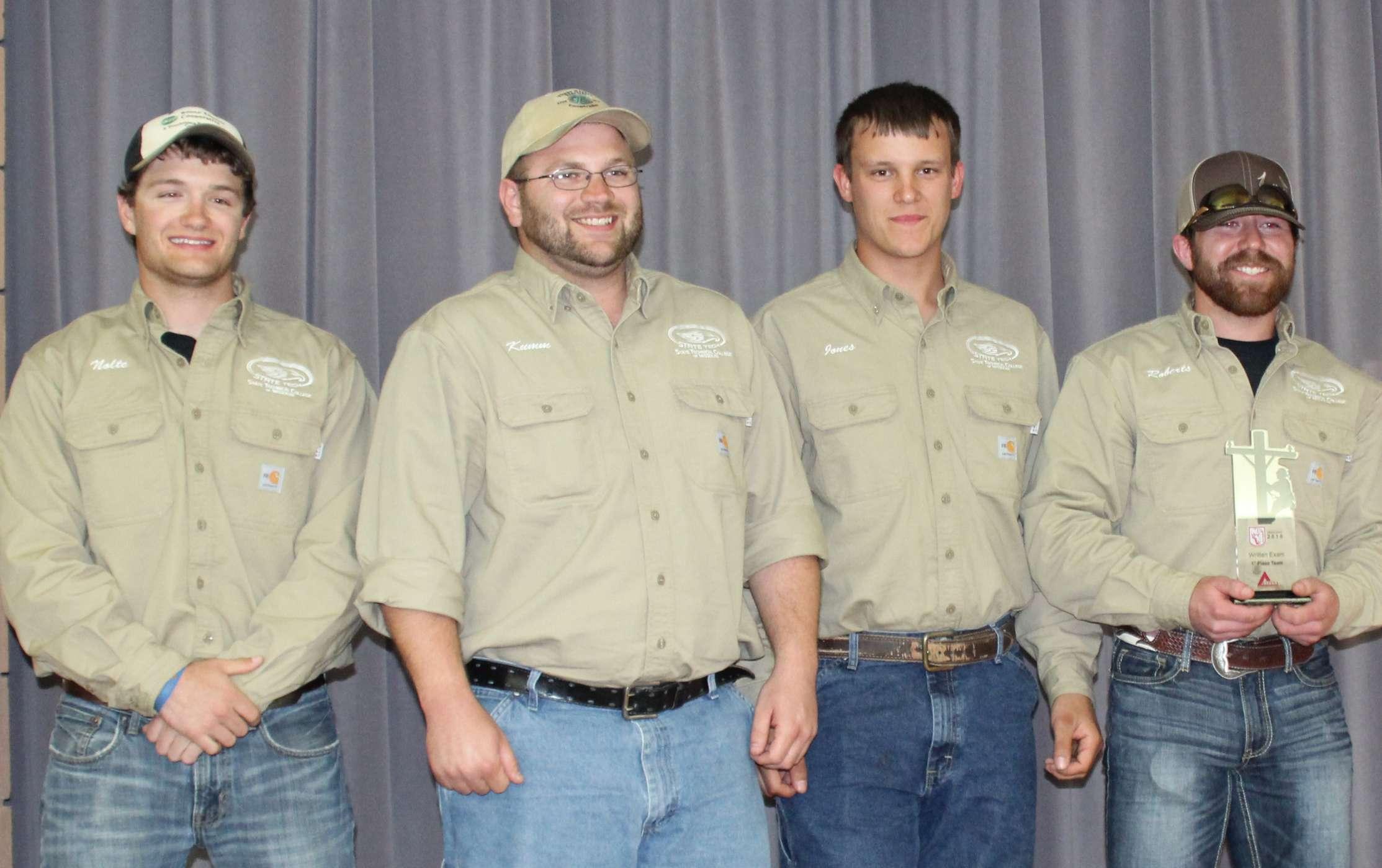 Lineman Rodeo Winners